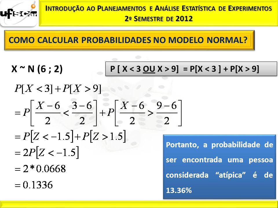 P [ X < 3 OU X > 9] = P[X < 3 ] + P[X > 9]